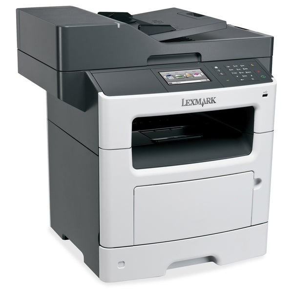Lexmark MX510DE Laser Multifunction Printer - Monochrome - Plain Pape