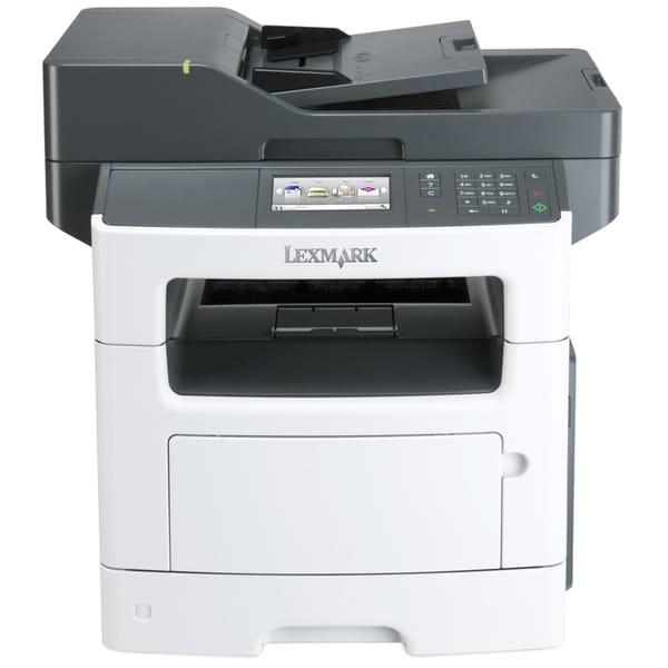 Lexmark MX511DHE Laser Multifunction Printer - Monochrome - Plain Pap