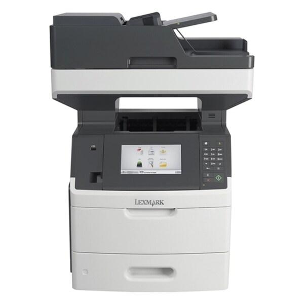 Lexmark MX710DE Laser Multifunction Printer - Monochrome - Plain Pape