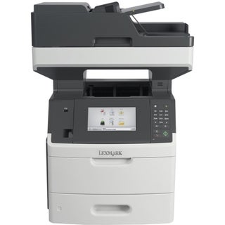 Lexmark MX710DHE Laser Multifunction Printer - Monochrome - Plain Pap