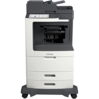 Lexmark MX810DE Laser Multifunction Printer - Monochrome - Plain Pape