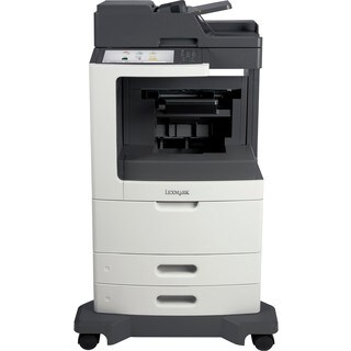 Lexmark MX810DFE Laser Multifunction Printer - Monochrome - Plain Pap