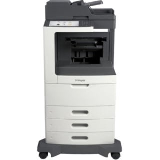 Lexmark MX810DTFE Laser Multifunction Printer - Monochrome - Plain Pa