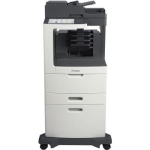 Lexmark MX810DXME Laser Multifunction Printer - Monochrome - Plain Pa