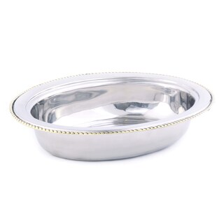 Old Dutch Oval Stainless Steel 6-quart Food Pan