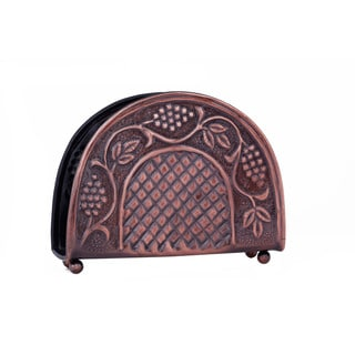 Old Dutch Antique Embossed 'Heritage' Napkin Holder