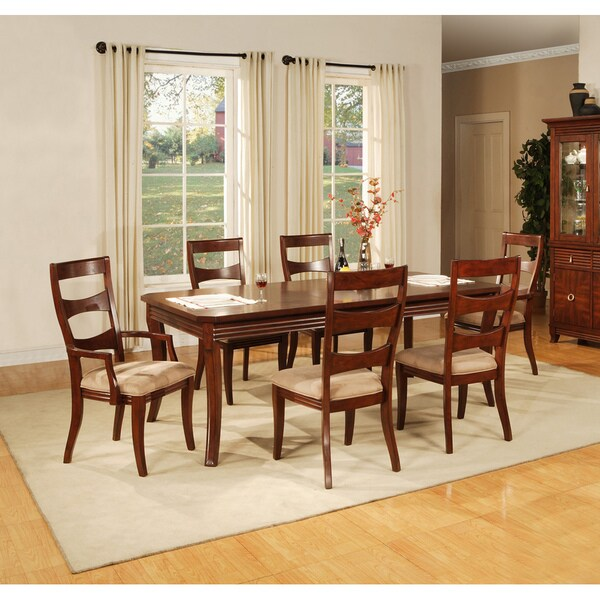 'Solina' Cherry Dining Chairs (Set of 2)