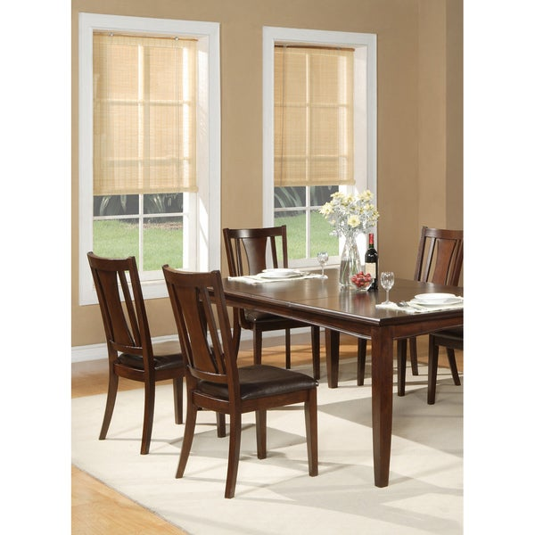 Alpine Furniture Bradbury Cappuccino Dining Chairs (Set of 2)