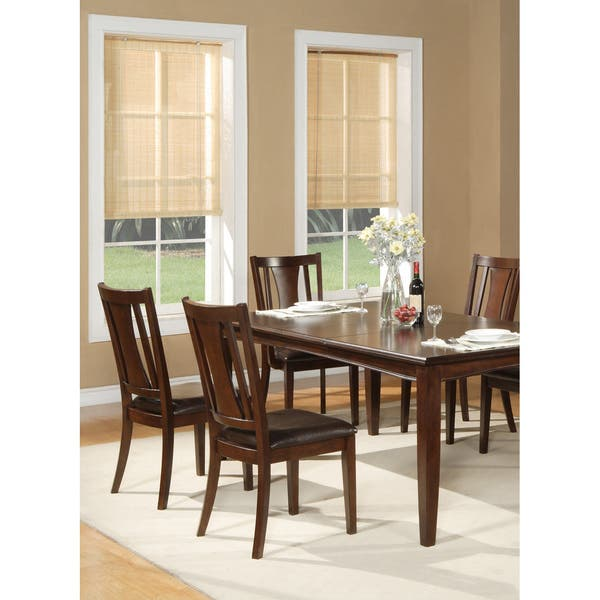 Incredible Shop Alpine Furniture Bradbury Cappuccino Dining Chairs Set Short Links Chair Design For Home Short Linksinfo