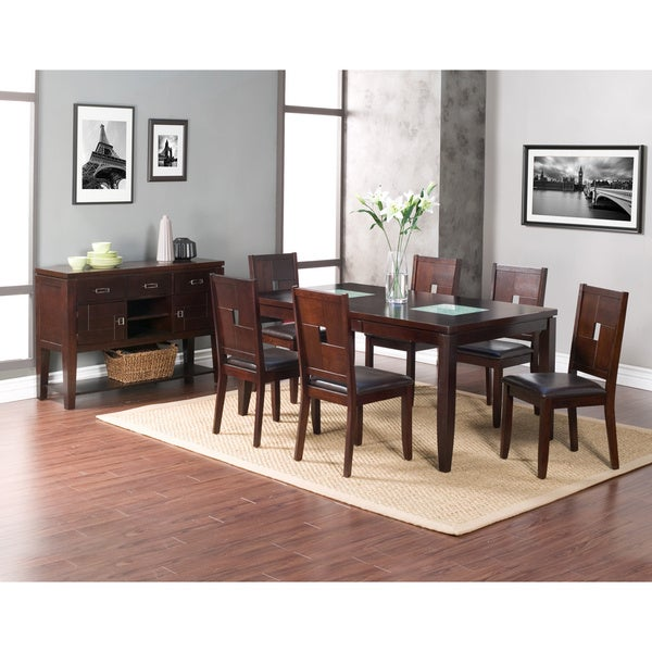 Alpine Furniture Lakeport Espresso Dining Chairs (Set of 2)