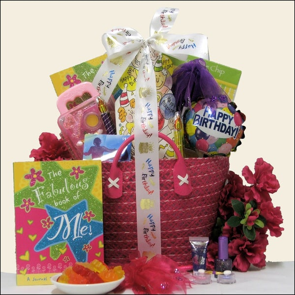Great Arrivals Fabulous Me Girl Kid's Birthday Gift Basket