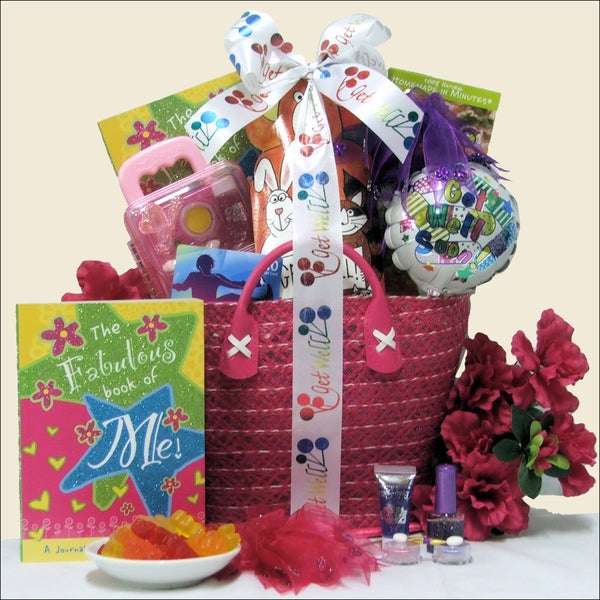 Great Arrivals Tween Fashion Therapy Girl's Get Well Gift Basket