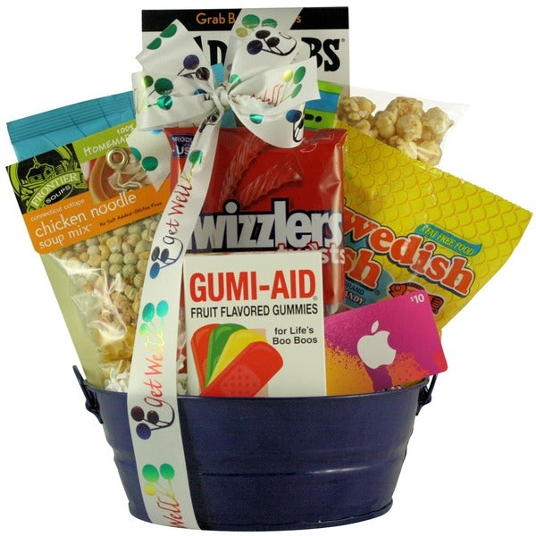 Great Arrivals iTunes Therapy Boy's Get Well Gift Basket