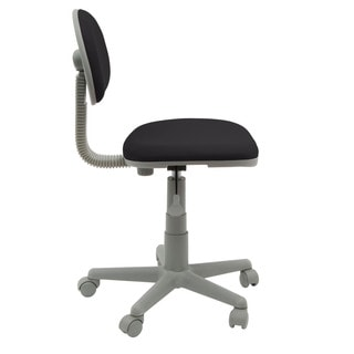 Calico Designs Black/ Grey Deluxe Task Chair