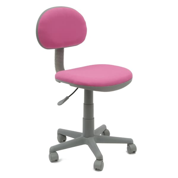 Calico Designs Deluxe Pink/ Grey Task Chair