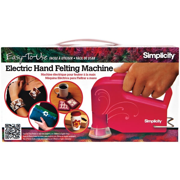 Simplicity Electric Hand Held Felting Machine