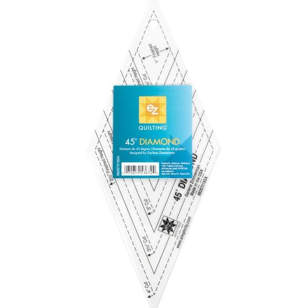 45 Degree Diamond Shape Acrylic Tool-