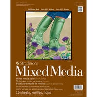 Strathmore Mixed Media Paper Pad 11X14-15 Sheets