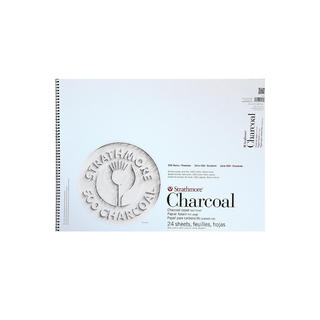 Strathmore Charcoal Paper Pad White 18X24-24 Sheets