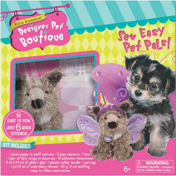 Sew Easy 'Terrier with Wings' Pet Pals Kit