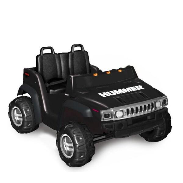 Hummer H2 Two Seater in Black (12V)