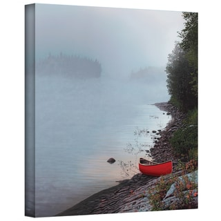 Ken Kirsch 'Smoke on the Water' Wrapped Canvas