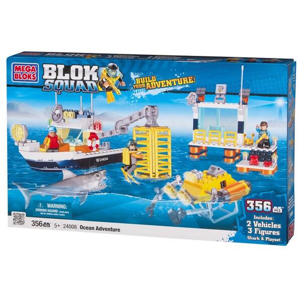 Blok Squad Ocean Adventure Playset