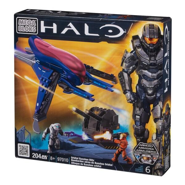 Mega Bloks Halo Orbital Banshee Blitz Playset