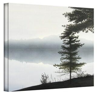 Ken Kirsch 'Morning Fog' Wrapped Canvas