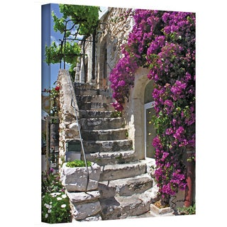 """George Zucconi """"St. Paul de Vence, France"""" Gallery-Wrapped Canvas"""