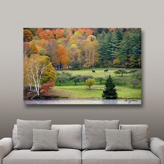 George Zucconi 'Killington, Vermont' Wrapped Canvas