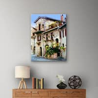 George Zucconi 'Assisi, Italy' Wrapped Canvas