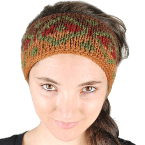 Winter Knit Headband (Nepal)