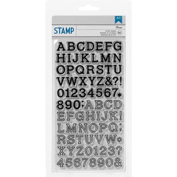 Shoreline Stamps-Roxie Alphabet