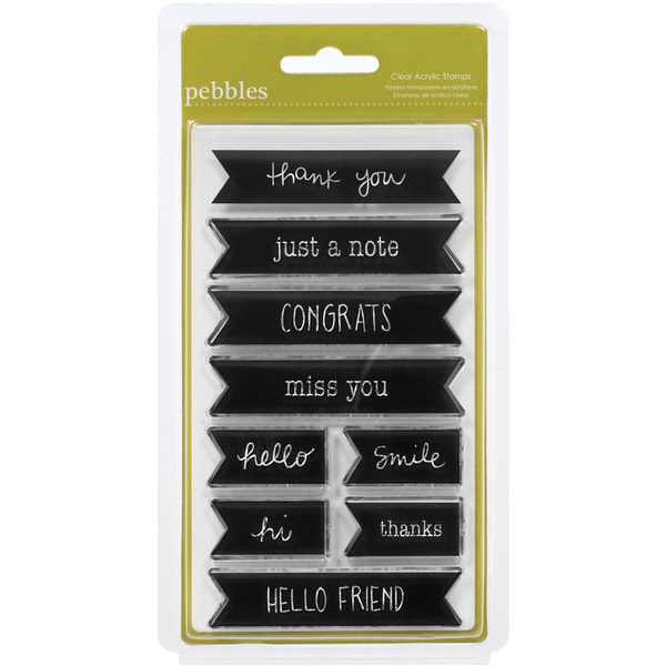 Sunny Side Clear Acrylic Stamps-Words & Phrases
