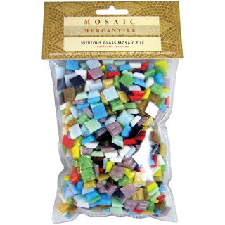 Mini Glass Tile Assorted 1 Pound/Pkg-