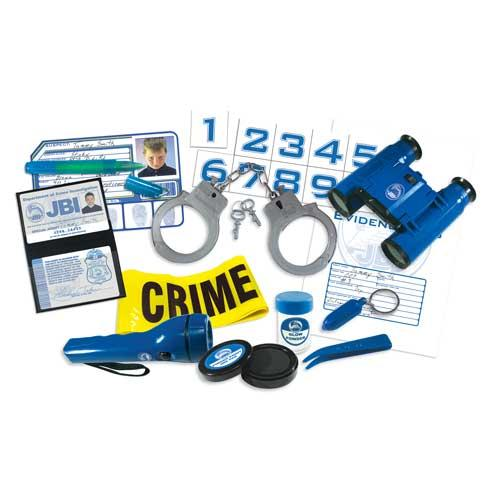 Be a Detective Forensics Expert Kit Play Set