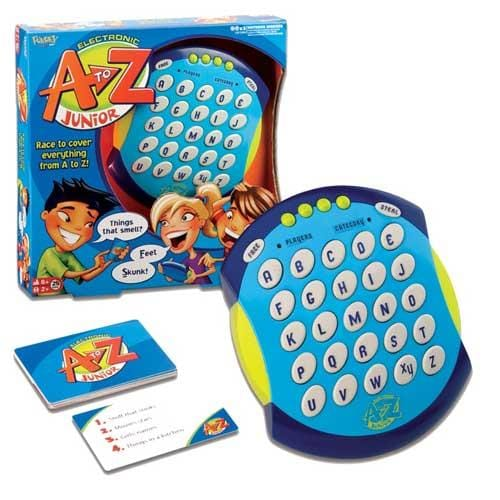 A to Z Junior Electronic Game