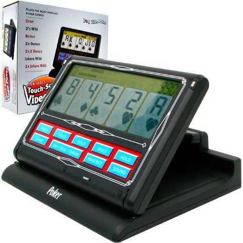 Portable 7 in 1 Video Poker