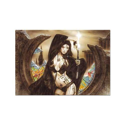 The Goddess Ama-No-Uzume and Dawn, Luis Royo 1500-piece Puzzle