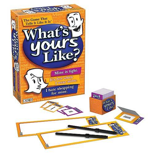 What's Yours Like? Game