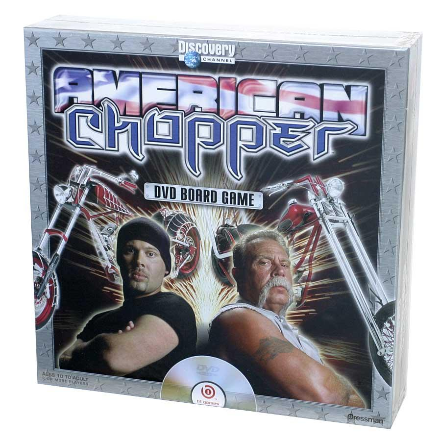 American Chopper DVD Board Game