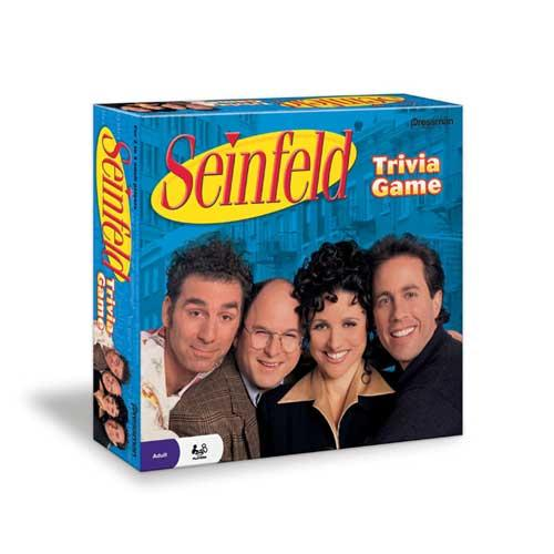 Pressman Toy Seinfeld Trivia Game