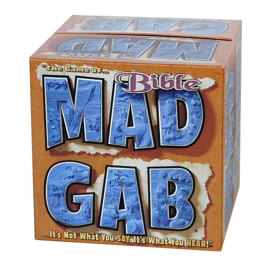 Mad Gab Board Game: Bible Edition