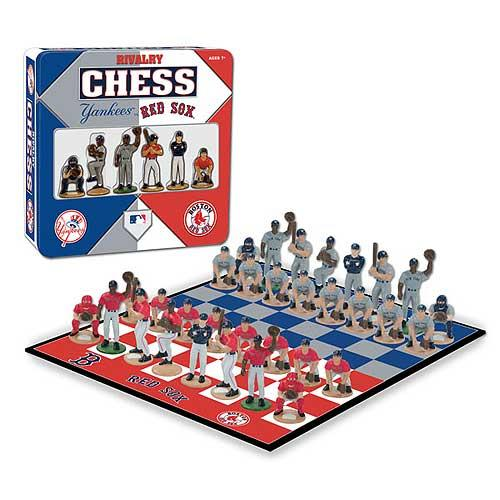 Yankees Vs. Red Sox Rivalry Chess Set