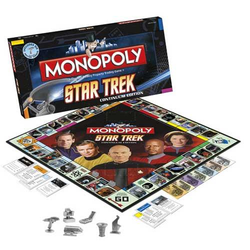 Star Trek Collector's Edition Monopoly Game