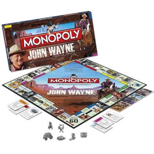 John Wayne Collector's Edition Monopoly Game
