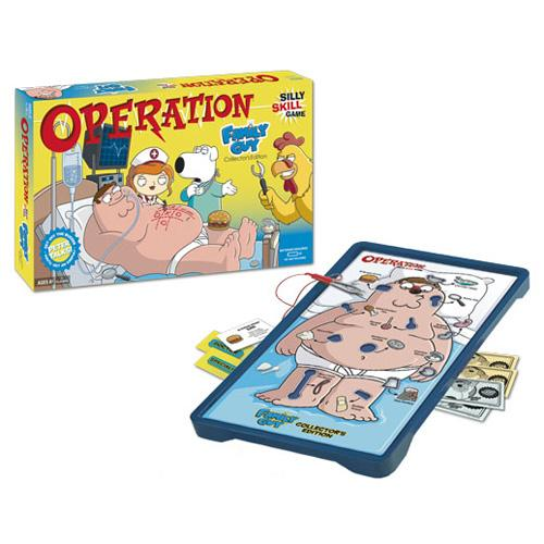 Family Guy Collector's Edition Operation Game