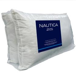 Nautica 240 Thread Count Gusseted Bed Pillows (Set of 2) - Thumbnail 1