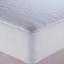 Nautica 400 Thread Count Egyptian Cotton Stripe Mattress Pad - Thumbnail 1